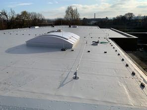 Dach ist fertig